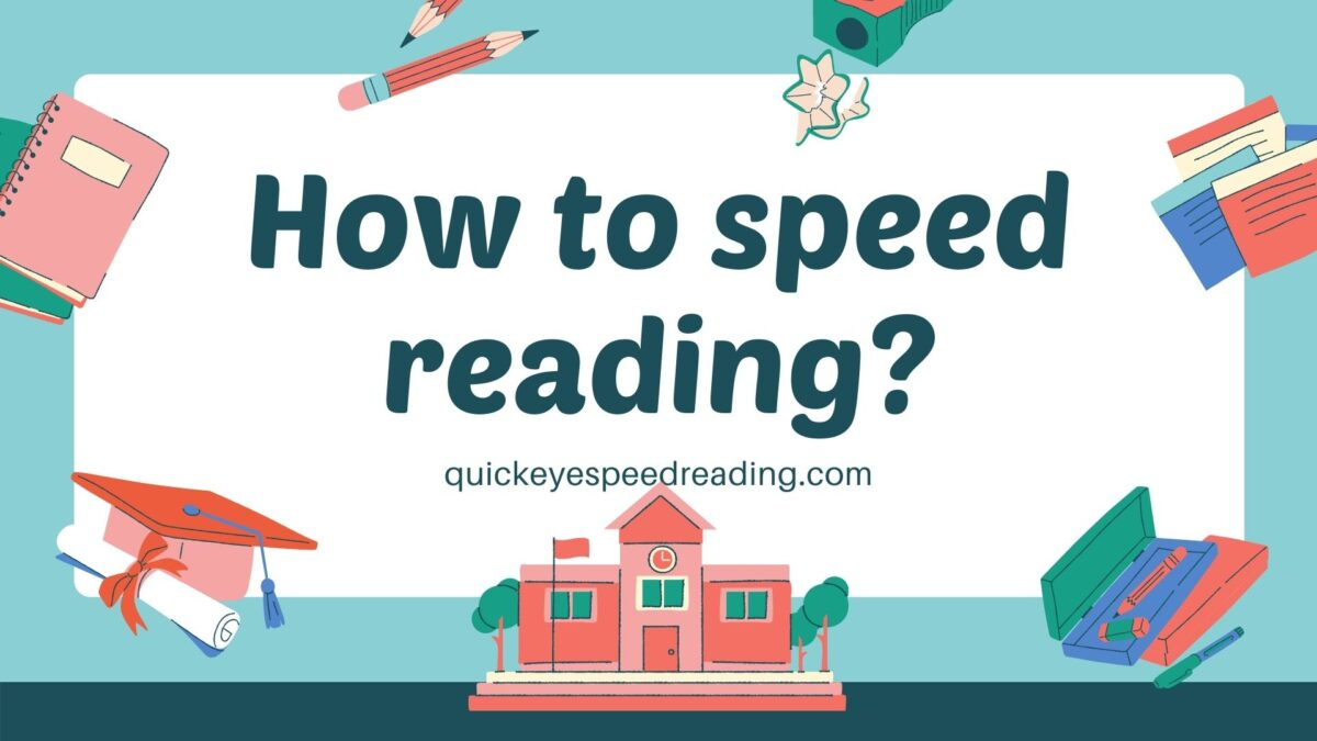 how to speed reading?